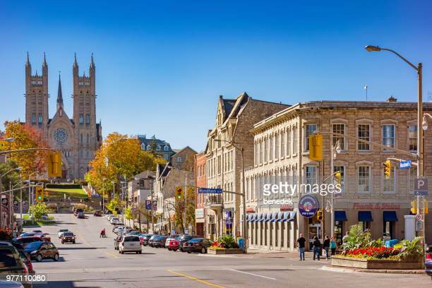 Macdonell street in Downtown Guelph Ontario Canada