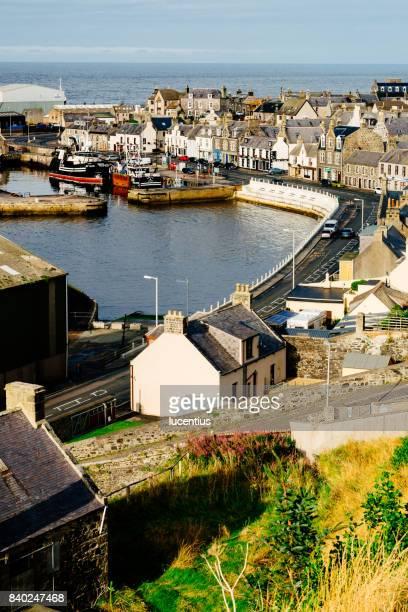macduff, aberdeenshire, scotland - aberdeenshire stock pictures, royalty-free photos & images
