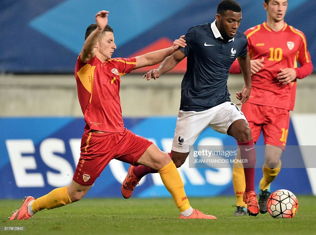 FBL-EURO-U21-FRA-MAC : News Photo