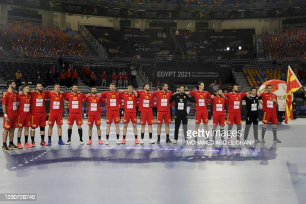 EGY: North Macedonia v Russia - IHF Men's World Championships Handball 2021