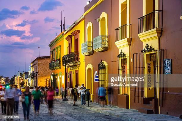 Macedonio Alcala Street in Oaxaca