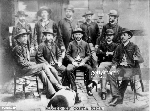 Maceo in Costa RicaIn 1892 General Antonio Maceo was in Costa Rica and is shown in this portrait with Flor Crombet Augustine Cebreco Morua Delgado...