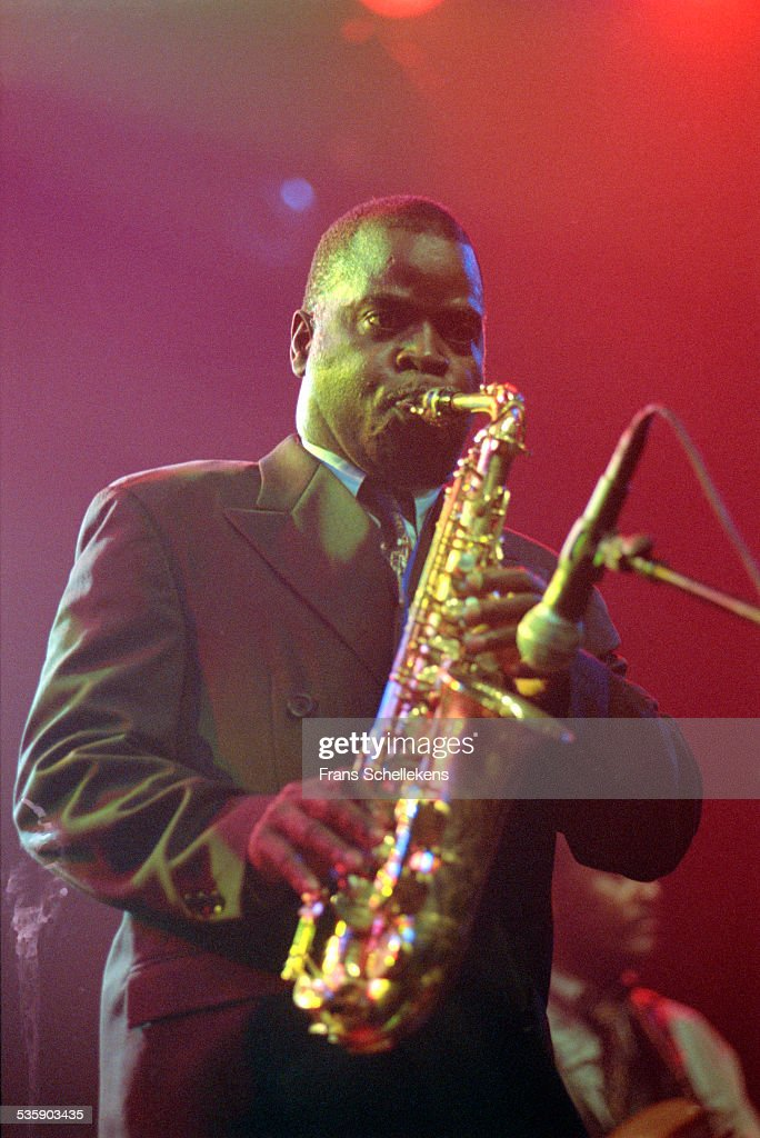 Maceo Parker, alto saxophone, performs at the Paradiso on May 29th 1999 in Amsterdam, Netherlands.