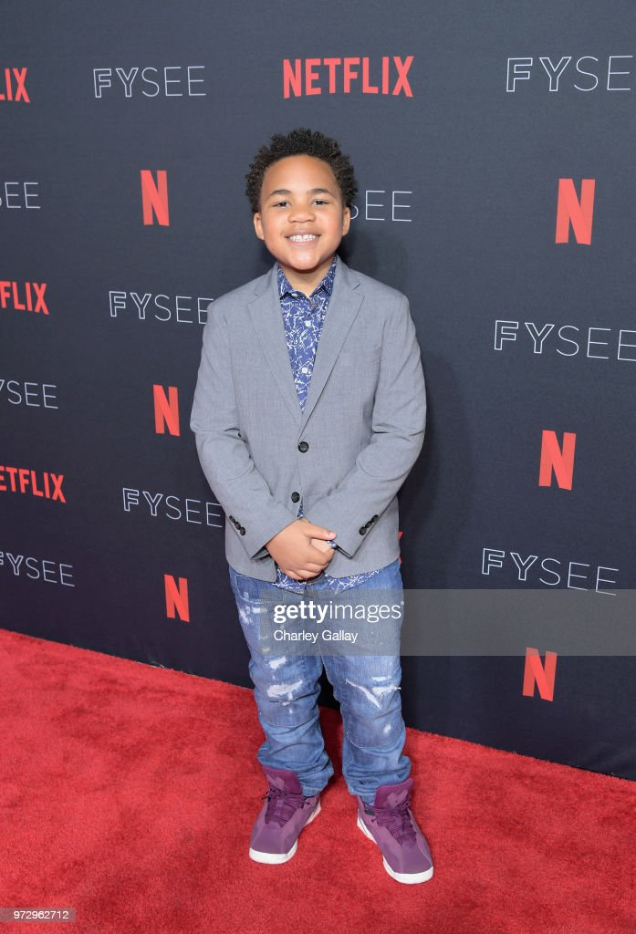 Maceo Smedley attends Strong Black Lead party during Netflix FYSEE at Raleigh Studios on June 12, 2018 in Los Angeles, California.