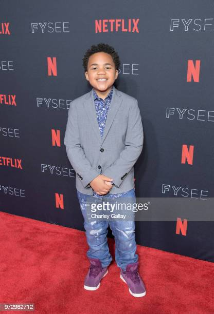Maceo Smedley attends Strong Black Lead party during Netflix FYSEE at Raleigh Studios on June 12 2018 in Los Angeles California