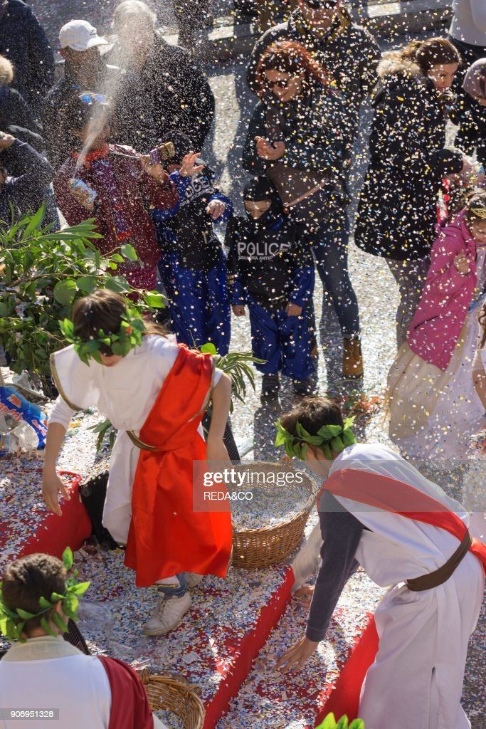 Macerata Carnival 2017. Marche. Italy. Europe : News Photo