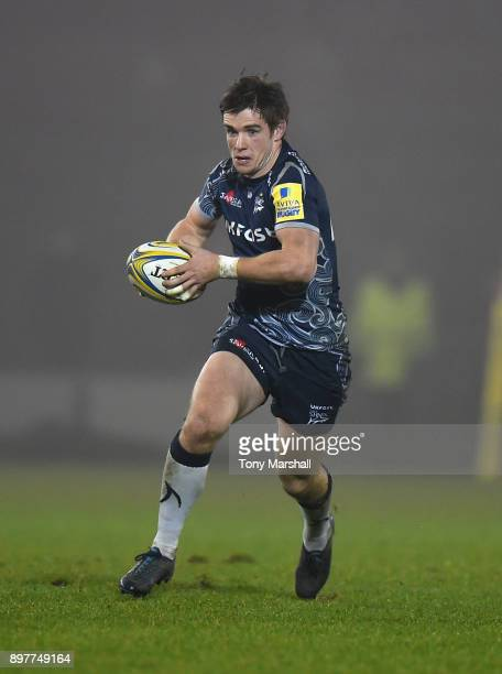 MacGinty of Sale Sharks during the Aviva Premiership match between Sale Sharks and Bath Rugby at AJ Bell Stadium on December 23 2017 in Salford...