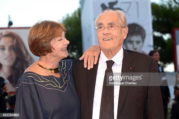 Macha Meril and Michel Legrand attend 'La Rancon De La Gloire' Premiere during the 71st Venice Film Festival on August 28 2014 in Venice Italy