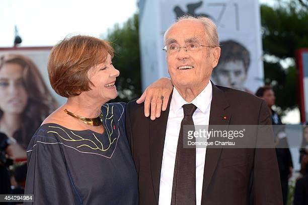 Macha Meril and Michel Legrand attend 'La Rancon De La Gloire' Premiere during the 71st Venice Film Festival on August 28, 2014 in Venice, Italy.