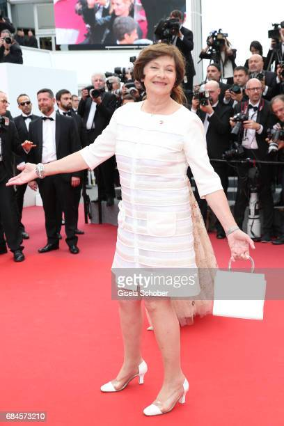 Macha Meril attends the Loveless screening during the 70th annual Cannes Film Festival at Palais des Festivals on May 18 2017 in Cannes France