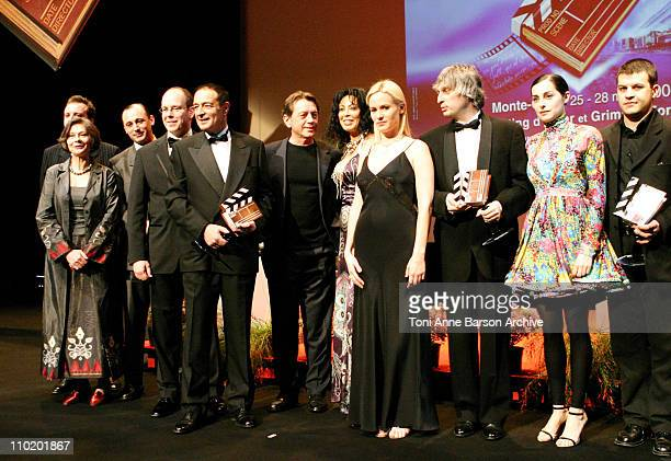 Macha Meril, HSH Prince Albert of Monaco, Bernard Giraudeau, Judith Godreche and Amira Casar