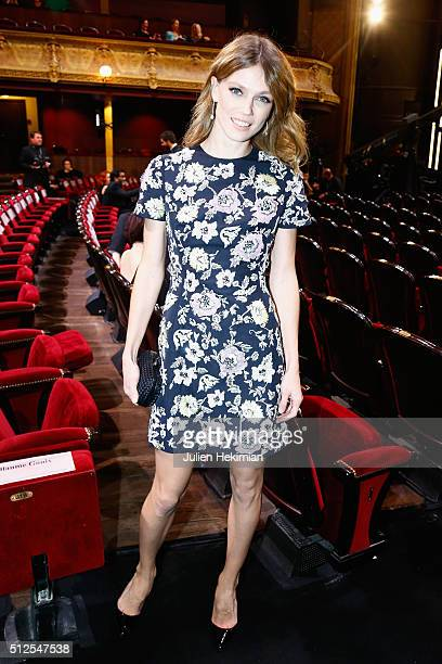 Macha Rassam attends The Cesar Film Award 2016 at Theatre du Chatelet on February 26 2016 in Paris France