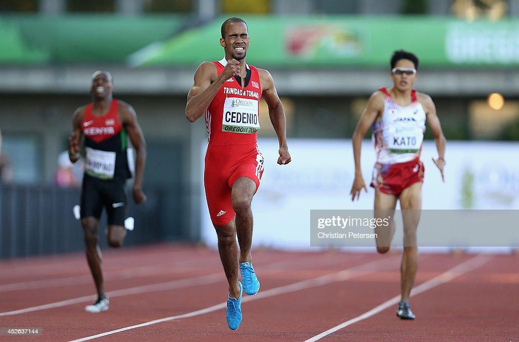 IAAF World Junior Championships - Day 3 : News Photo