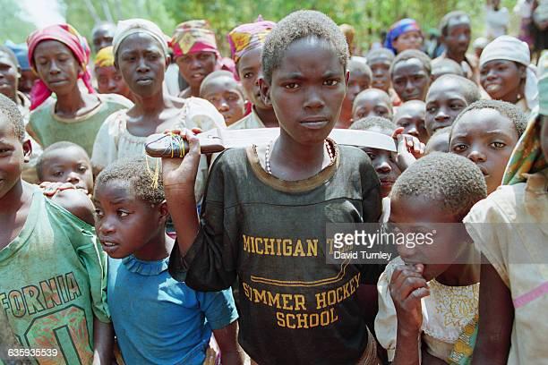 Machetes were used to massacre hundreds of thousands of Rwandans