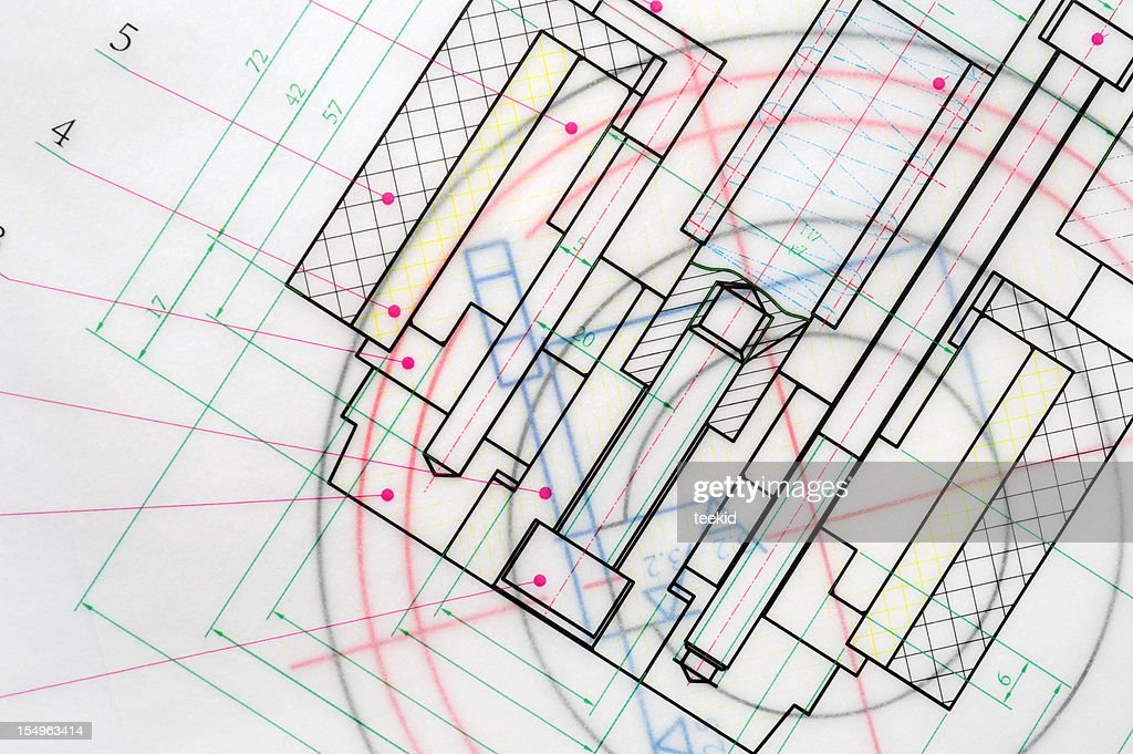 Machine blueprint outline design paperwork document stock photo machine blueprint outline design paperwork document stock photo malvernweather Gallery