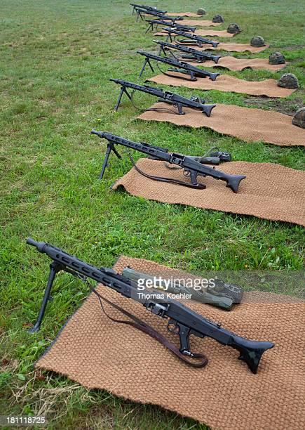 Machine gun at the FerdinandvonSchill barracks