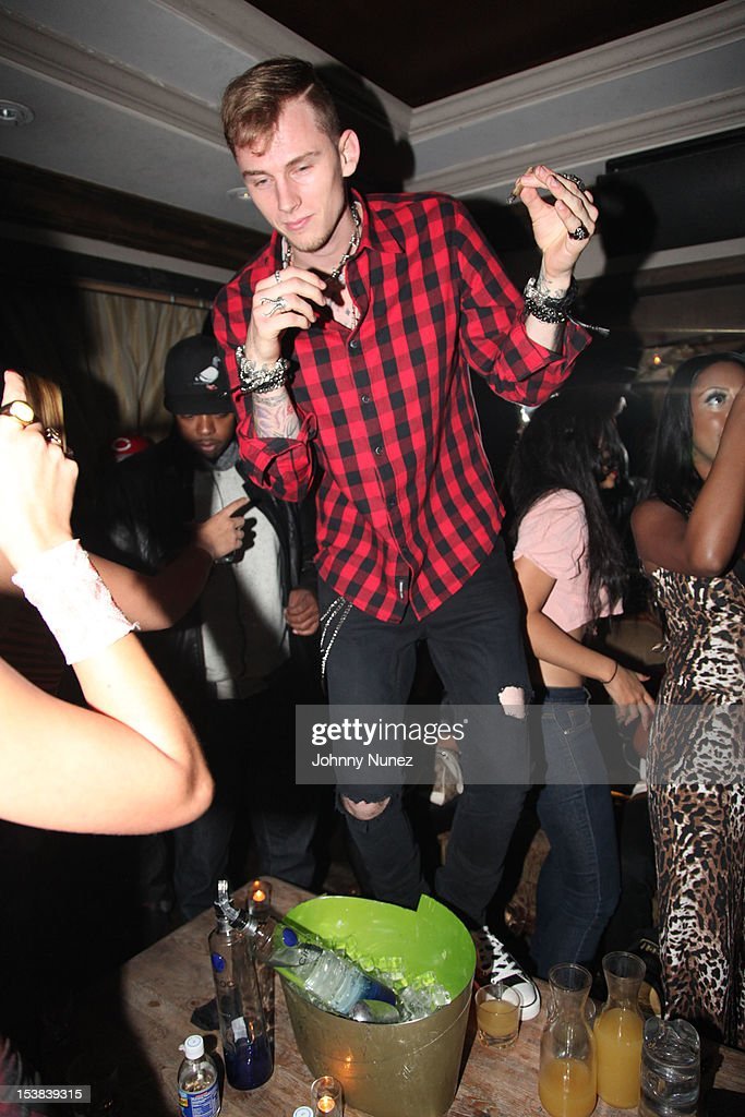 Machine Gun Kelly attends Machine Gun Kelly's Album Release Party at RDV on October 8, 2012 in New York City.