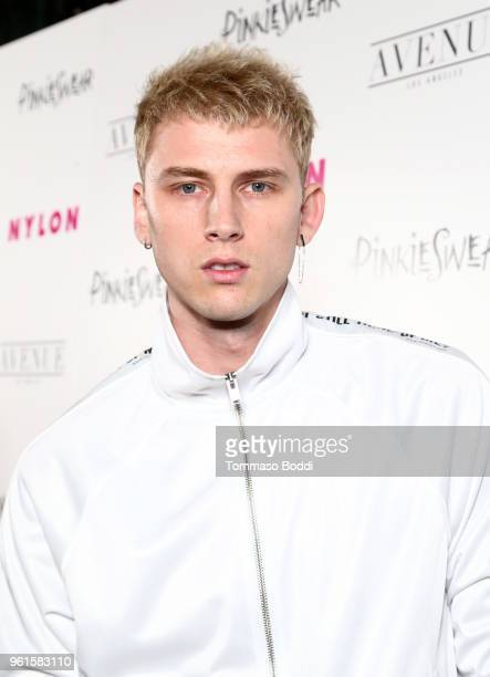 Machine Gun Kelly attends NYLON's Annual Young Hollywood Party sponsored by Pinkie Swear at Avenue Los Angeles on May 22 2018 in Hollywood California