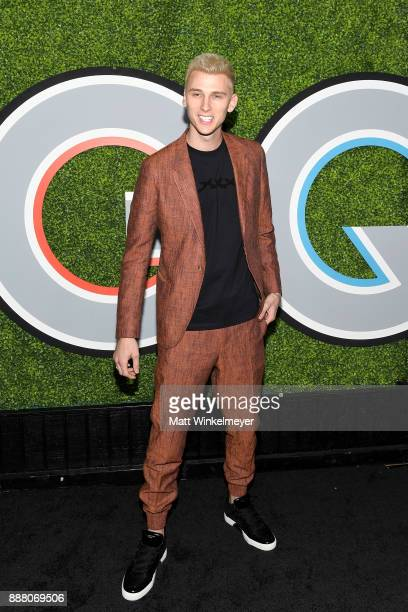 Machine Gun Kelly attends the 2017 GQ Men of the Year party at Chateau Marmont on December 7 2017 in Los Angeles California