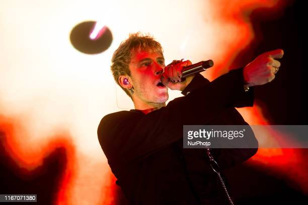 Machine Gun Kelly performs live at Fabrique in Milano, Italy, on September 08 2019. Machine Gun Kelly , is an American rapper and actor from...
