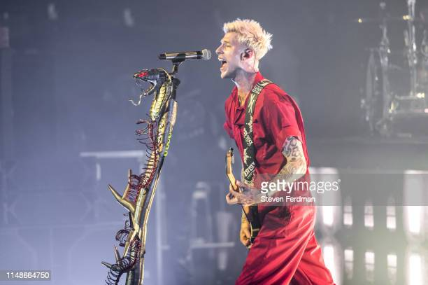 Machine Gun Kelly performs onstage at PlayStation Theater on June 8, 2019 in New York City.