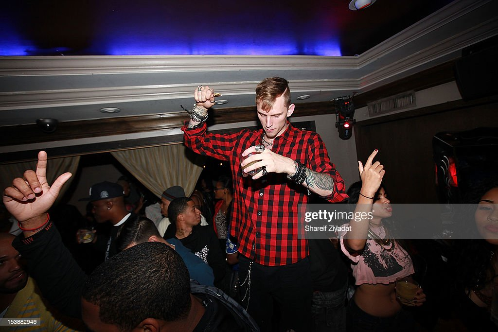 Machine Gun Kenny attends the Machine Gun Kelly Album Release Party at RdV Lounge on October 8, 2012 in New York City.