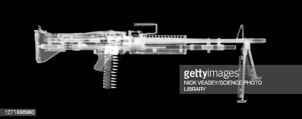 m60 machine gun, x-ray - machine gun stock pictures, royalty-free photos & images