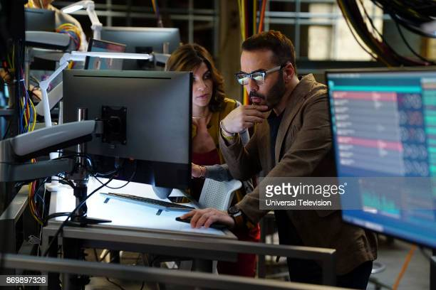 CROWD 'Machine Learning' Episode 103 Pictured Natalia Tena as Sara Morton Jeremy Piven as Jeffrey Tanner