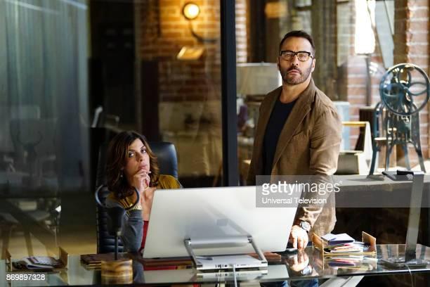 CROWD 'Machine Learning' Episode 103 Pictured Natalia Tena as Sara Morton Jeremy Piven as Jeffrey Tanner