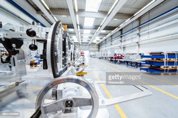 Machine on factory shop floor