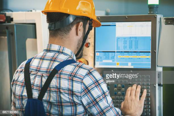 CNC machine operator.