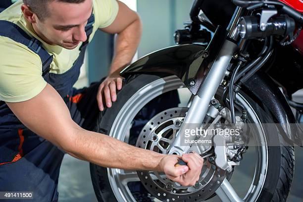 Machine repairing