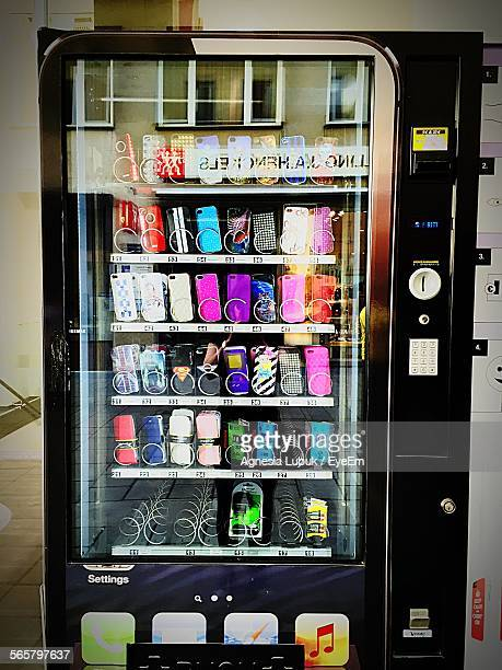 Machine Selling Mobile Phone Cases