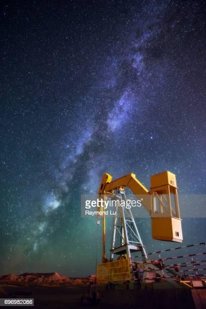 Machine under the Milky Way
