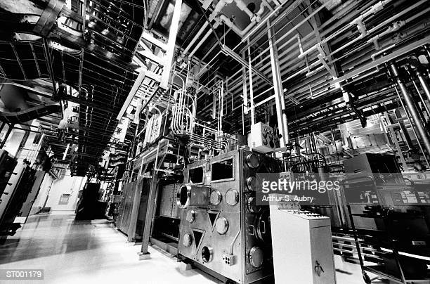 Machinery at a Nuclear Power Plant