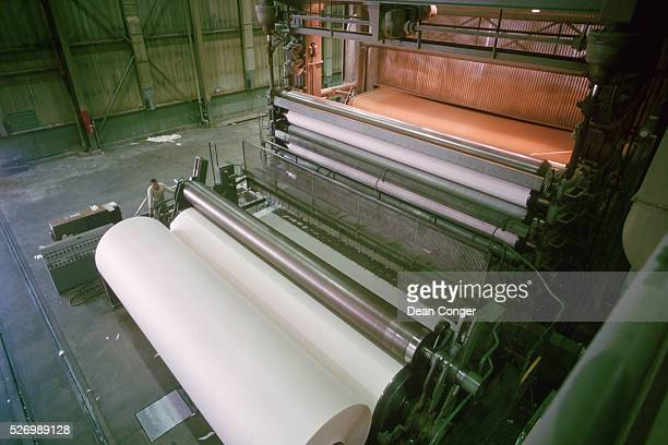 Machinery for Making Newsprint at Pulp and Paper Mill