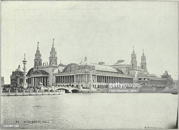 Machinery Hall World's Columbian Exposition Chicago Illinois 1896