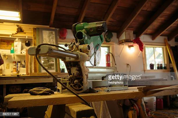 machinery in artists workshop - heshphoto stock pictures, royalty-free photos & images