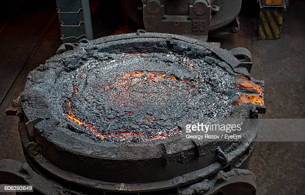 machinery in factory - steelmaking stock photos and pictures