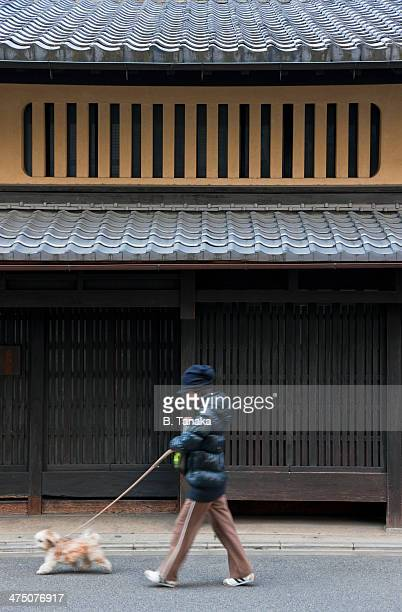 Machiya townhouse in Kyoto, Japan