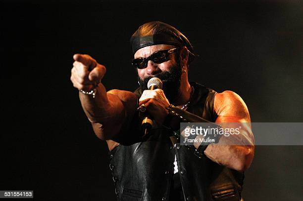 Macho Man Randy Savage during Voodoo Music Experience 2003 at City Park in New Orleans Louisiana United States