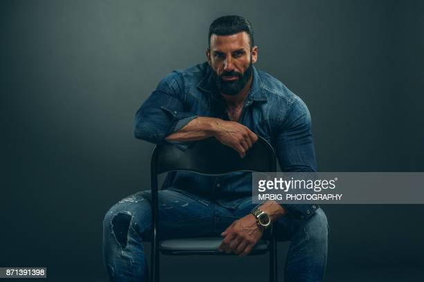 macho men - testosterone stock pictures, royalty-free photos & images