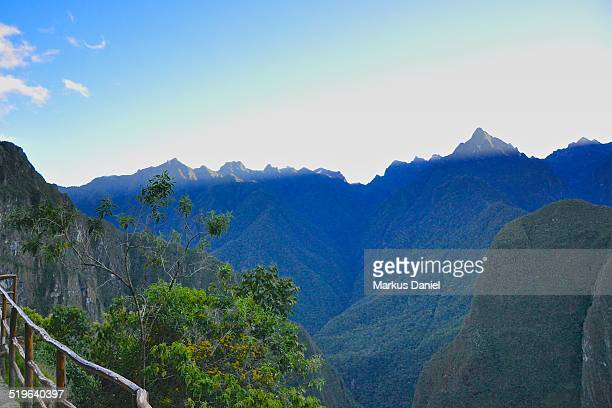 "machu picchu andes and putucusi mountain - ""markus daniel"" stock pictures, royalty-free photos & images"