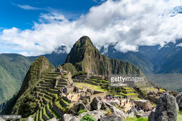 ペルーのマチュピチュ - マチュピチュ ストックフォトと画像