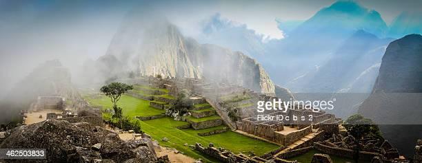Machu Picchu in the Mist