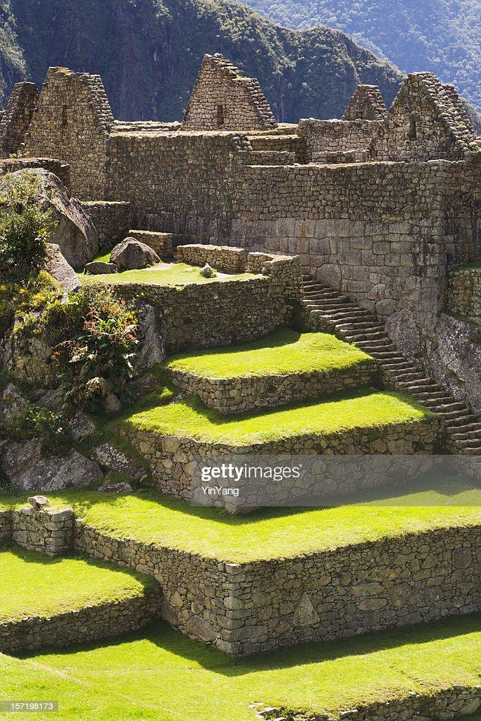 machu picchu inca culture landscape and architecture peru south