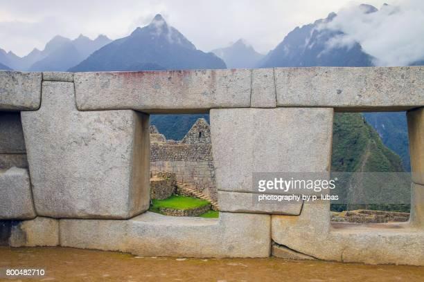 Machu Picchu Incan ruins - Peru