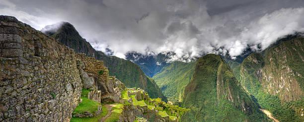 Machu Picchu Pano Wall Art