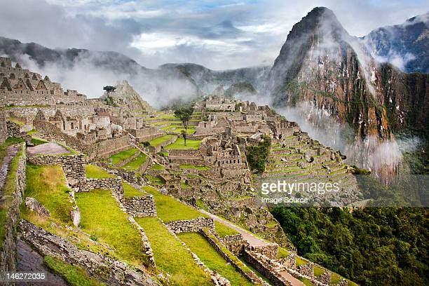 machu picchu, peru, south america - ancient civilisation stock pictures, royalty-free photos & images