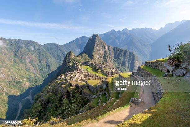 machu picchu - quechua people stock pictures, royalty-free photos & images